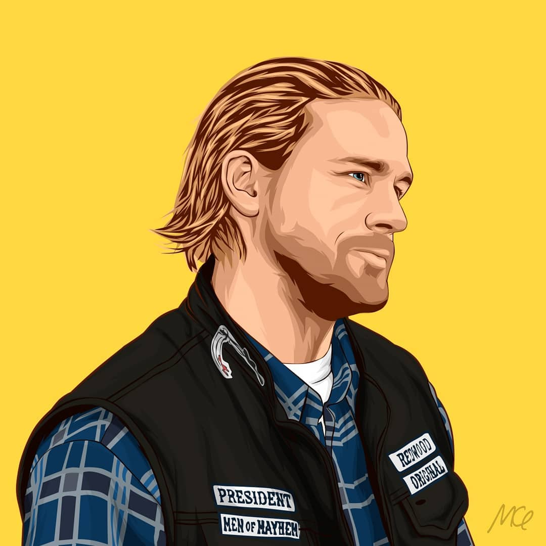 Sons Of Anarchy Esp On Twitter Jackson Teller Fan Art