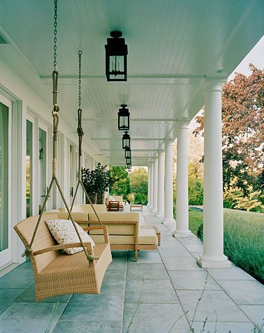 Traditionally Paint Porch Ceilings Shades Of Soft Blue Green To Ward Off Evil Spirits But You Don T Need Be Supersious Love A Splash Color
