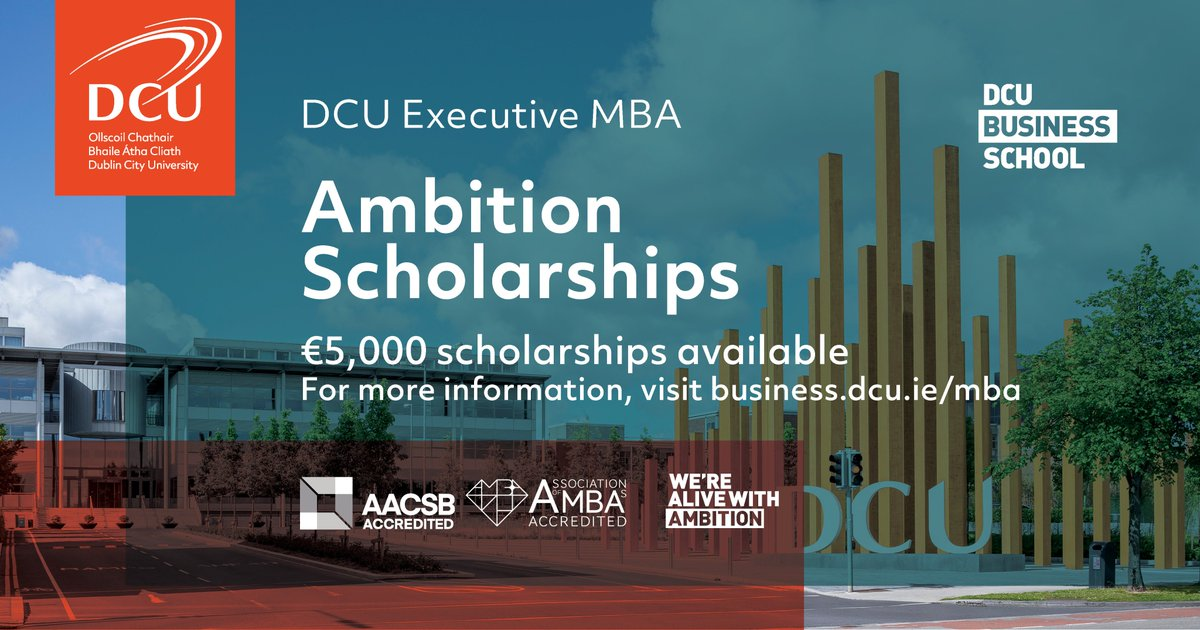 Image result for DCU Executive MBA Scholarship 2018 in Ireland