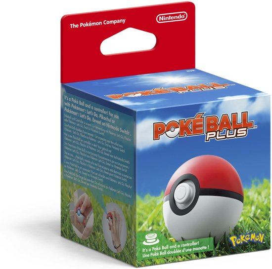 De Poké Ball Plus is nu reeds te reserveren bij @bol_com (€54,99)