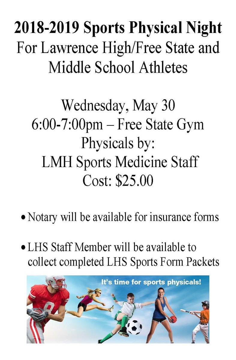 """sports physical form mississippi  Law HS Athletics on Twitter: """"LPS Sports Physical Clinic for ..."""