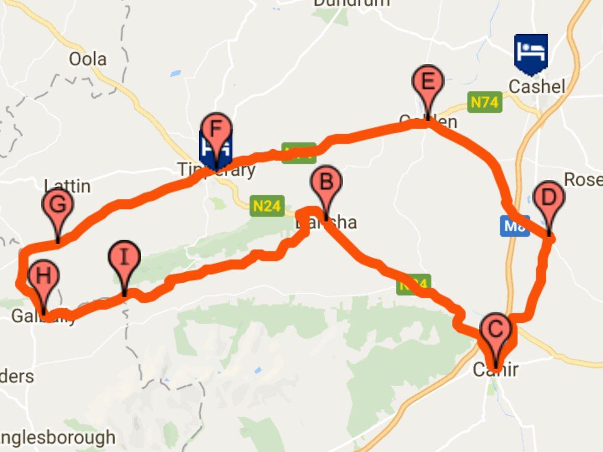75km cycle