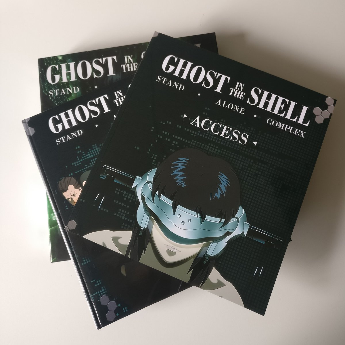 Manga Entertainment On Twitter It S Ghost In The Shell Stand Alone Complex On Deluxe Edition Blu Ray Https T Co 1kdsrixm86