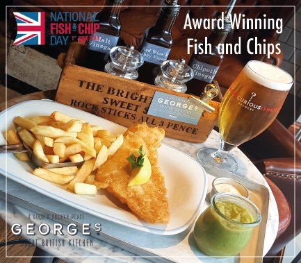 georges great british kitchen on twitter celebrate our humble beginnings since 1967 with our multi award winning fishandchips - Georges Kitchen