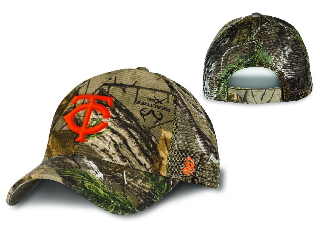 90ce6156607 Sign up for this offer online at http   mndnr.gov twins and get a free  camouflage and blaze orange  MNTwins logo cap this Saturday