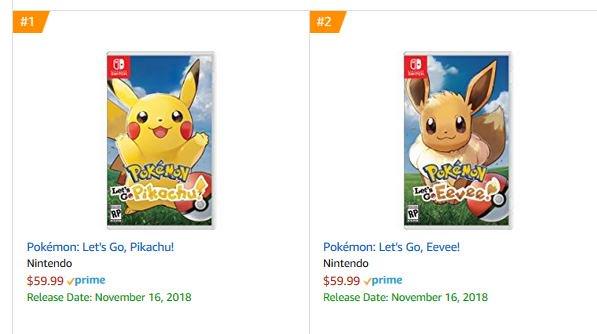 Cheap Ass Gamer On Twitter Pre Order Pokemon Let S Go Eevee