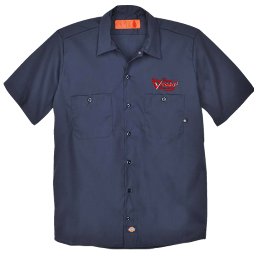 Dont have one? Check out this Embroidered @BBVD work shirt in a navy color! Get one here: bbvdstore.com/collections/fr… #BBVD