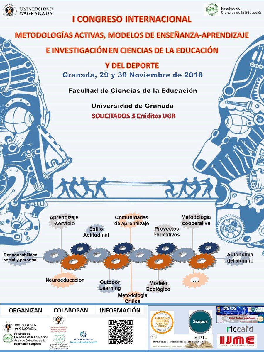 Image result for Congreso Internacional de Metodología activas este semana en Granada