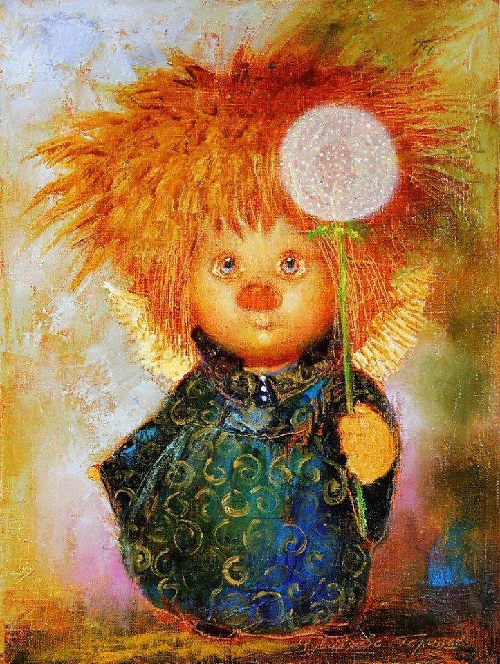 Казанской божьей, рыжая девочка открытки