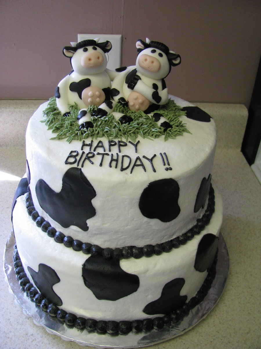 Fabulous Sergeant Harrison Burns On Twitter Cow Birthday Cake Thearchers Birthday Cards Printable Riciscafe Filternl