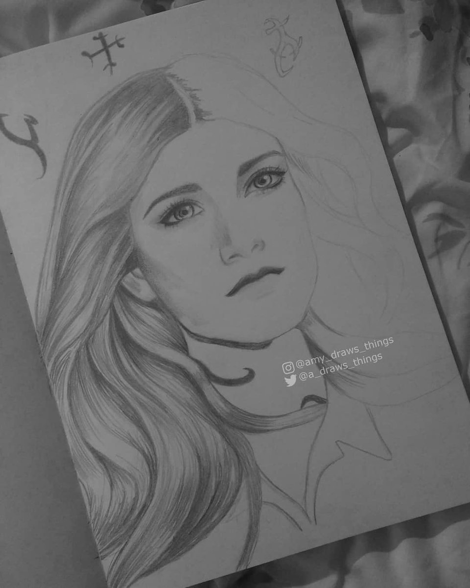 "Amy Wip amy on twitter: ""a #wip of the badass clary fray"