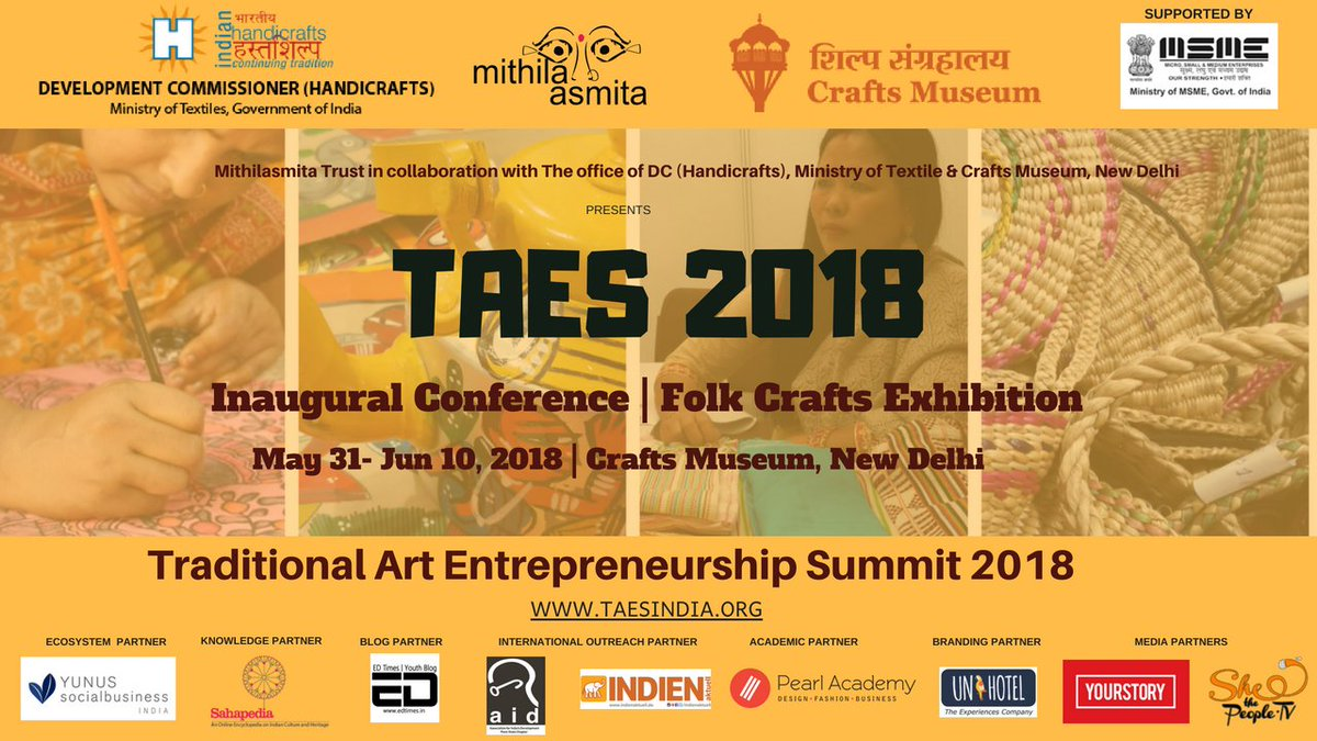 Shethepeople On Twitter Proud Partners To Taes2018 The Artisan
