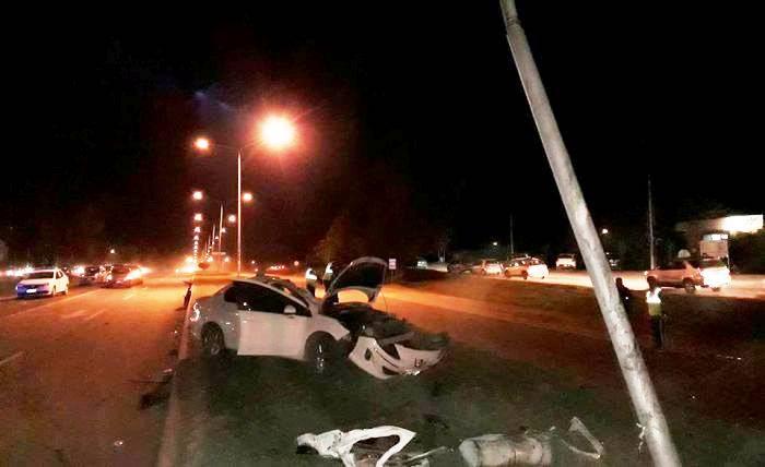 Santa Rosa | Despiste, vuelco y choque en la Perón: falleció el conductor