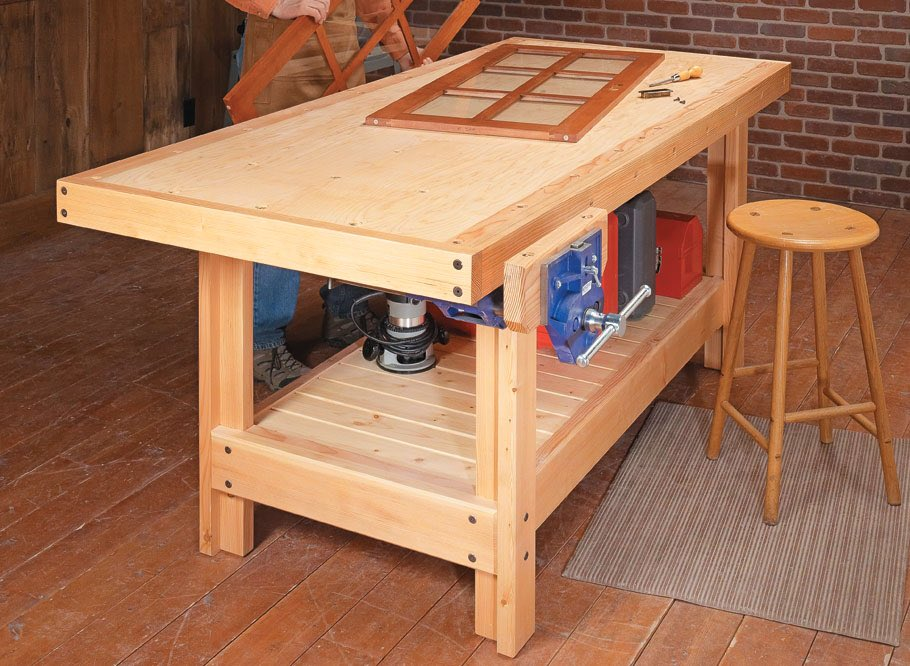 Shopnotes magazine shopnotes twitter build this torsion box workbench with our step by step plans httpwoodsmithplansplantorsion box workbench greentooth Image collections