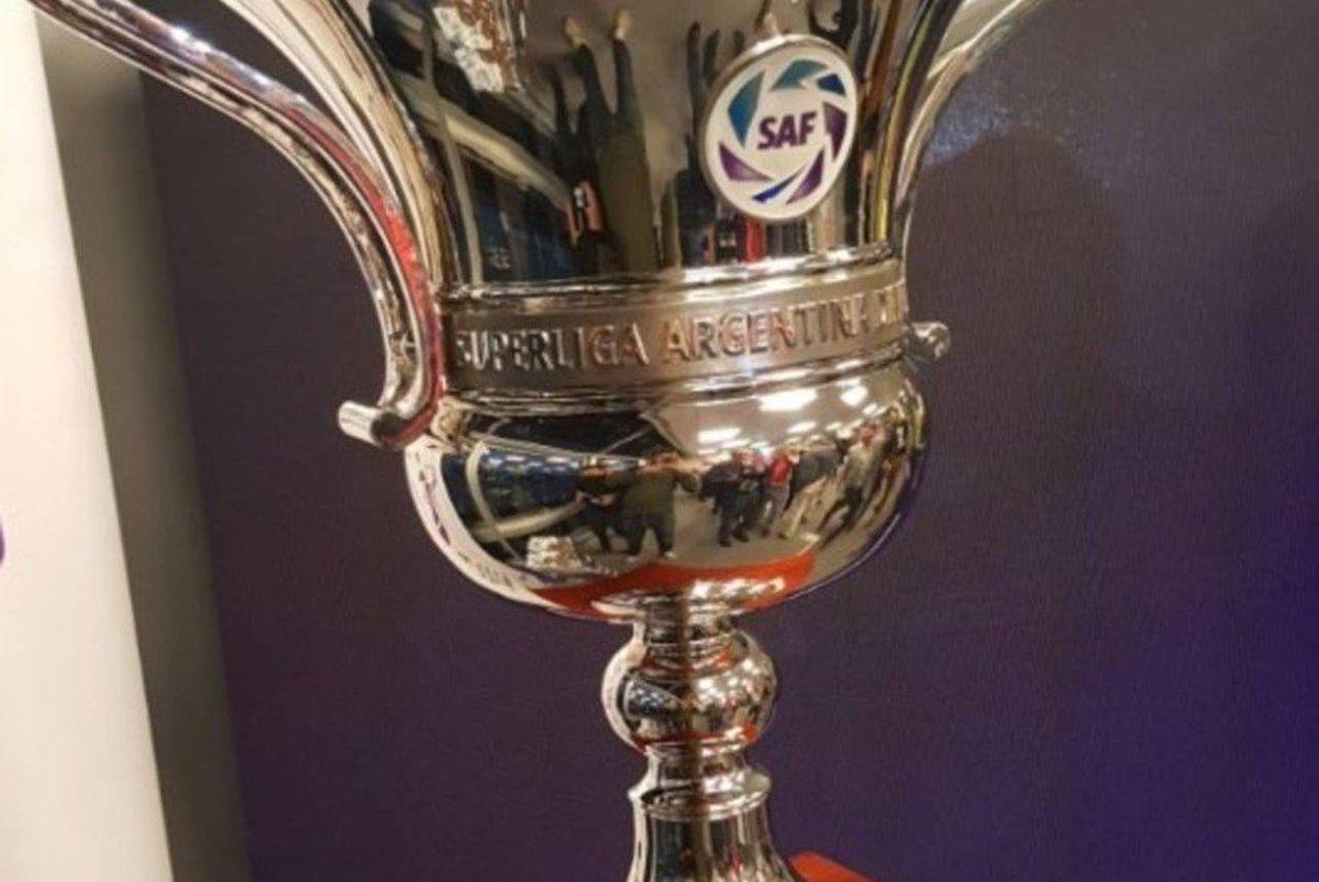 La próxima Superliga comenzará a jugarse el 10 de agosto