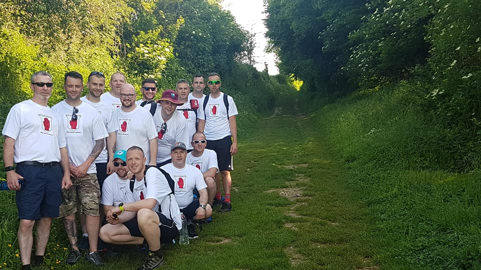 Orangemen complete 90-mile Great War walk