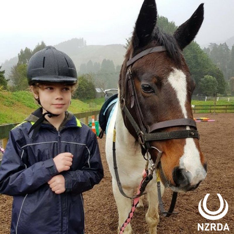 Ben is 11 years old & he's been riding his RDA therapy horse Luke for just over a year. They canter & trot & work really hard. Luke helps Ben with his confidence & ability to stay calm & to solve problems. This is where your money goes when you text SAM to 3333. #TeamSam #DWTSNZ https://t.co/nPjNbbagyV