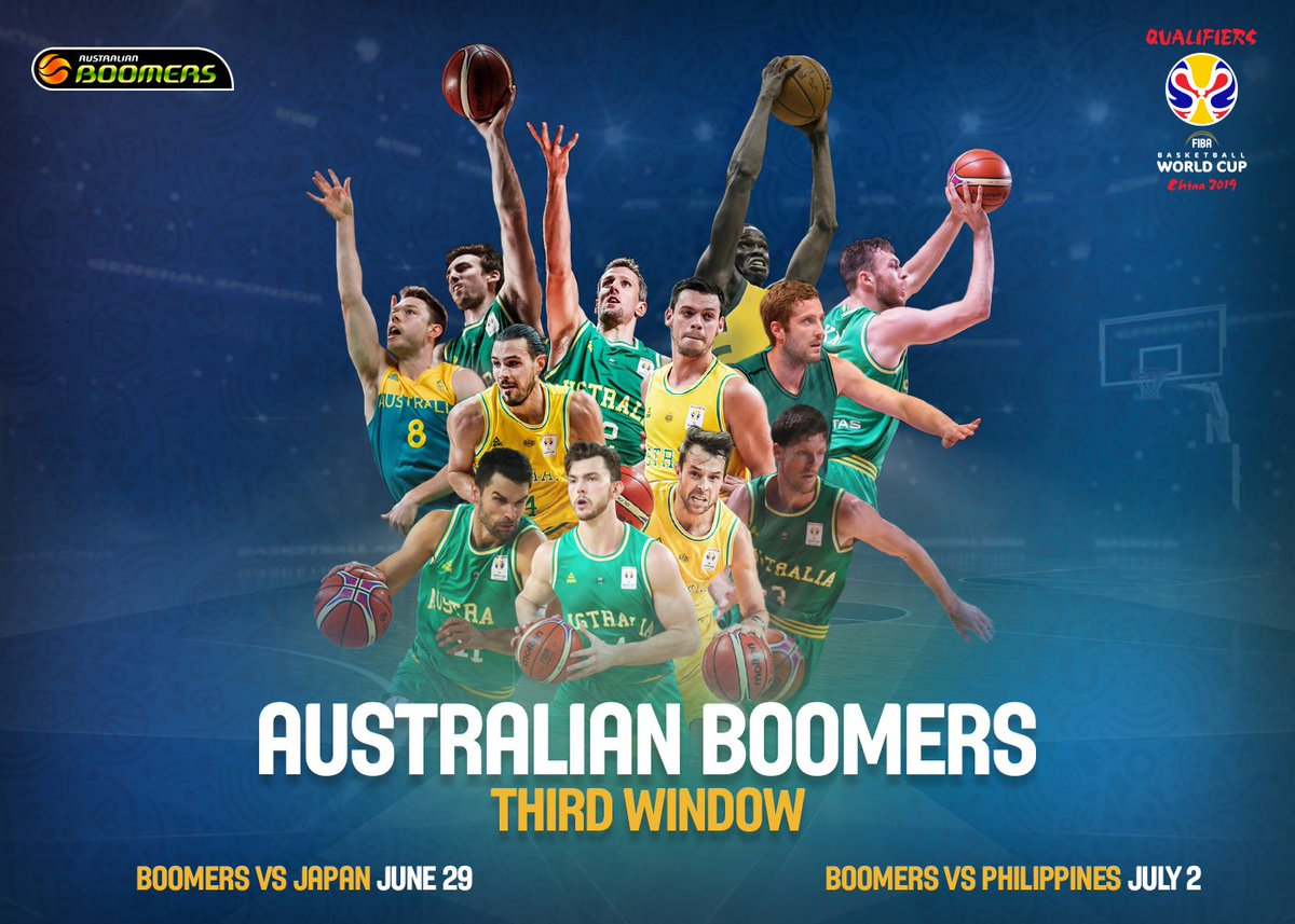 ANNOUNCEMENT | Two  stars will join the 🇦🇺 Boomers for the third window of the  qualifiers with  and  (making his national team debut) coming into the team to face Japan and the Philippines:   https://t.co/G8guovA3Y0 #GoBoomers