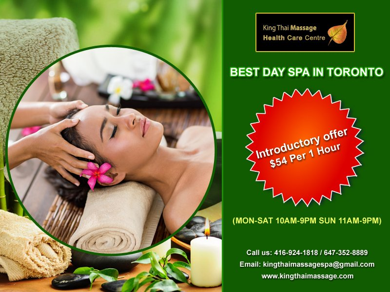Toronto thai happy massage Thai Massage