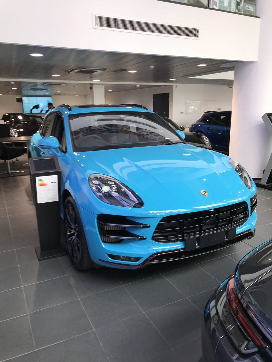 Porsche Retail Group On Twitter Ever Seen A Macan In Miami Blue