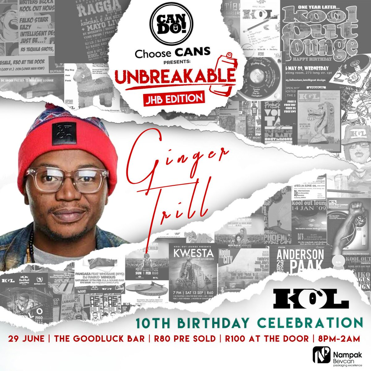 e48d556e819 ... turn up king  espiquet at our 10th Birthday Celebration on the  29 06 2108 at The Good Luck Bar. Tickets available on Quicket here   http   qkt.io 0QQx30 ...