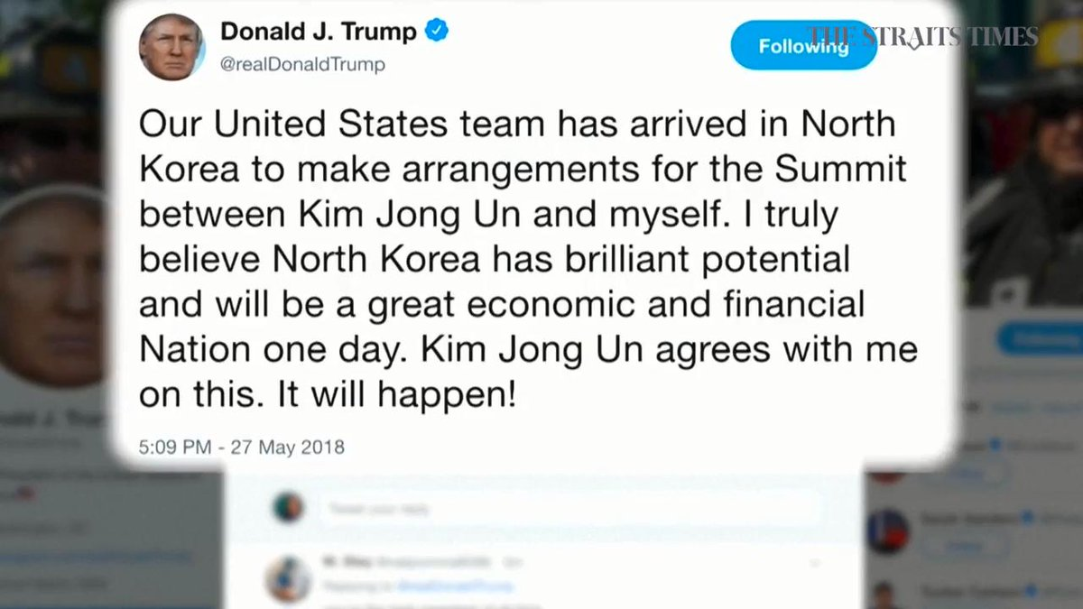 Secretary Pompeo On Twitter The Potential Summit Between Potus