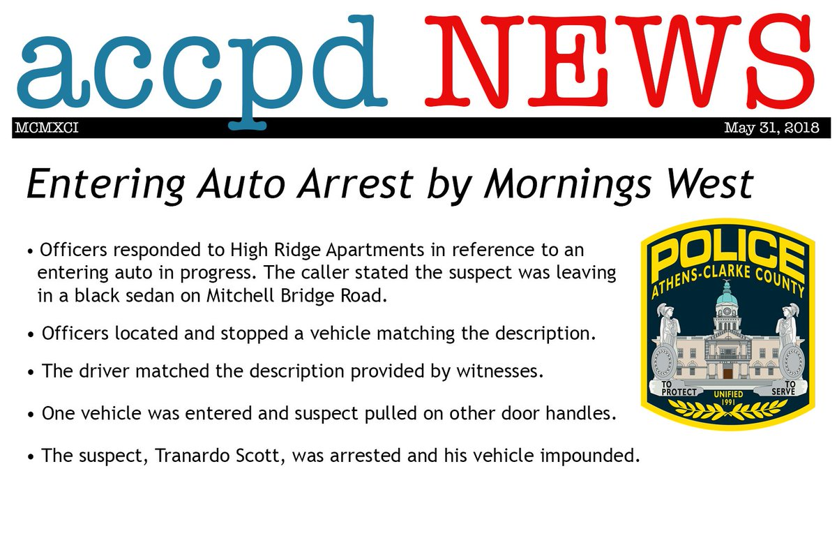 Athens-Clarke Police Department on Twitter: