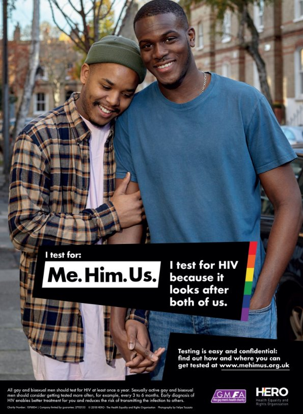 ... men but also to increase representation of BAME gay and bisexual men in  public health campaigns. ...