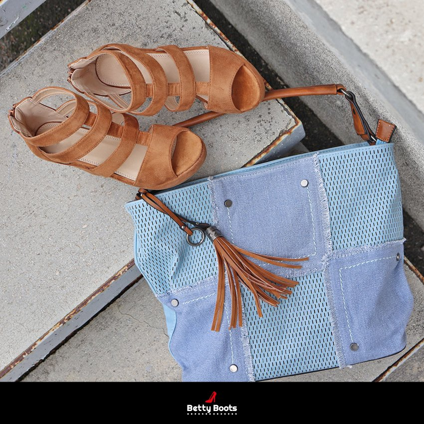 ... Compensées Simili daim   https   goo.gl GRHynA Sac à Main Bi-matières    https   goo.gl g62Fxd  bettyboots  chaussures  shoes  sandales  sac  spring  ... 7d3582613032