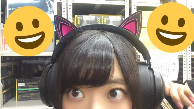 3 pic. #razerjp さんからピンクカラーの「QUARTZ EDITION」とアパレルが届きました〜〜!!!ありがとうございます!!女子力高いPC周りになりそうだ……!猫耳つけて設置配信しなきゃ!