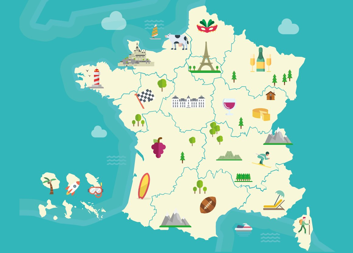 Interactive Map Of France.France Diplomacy On Twitter Want To Study In France But Don