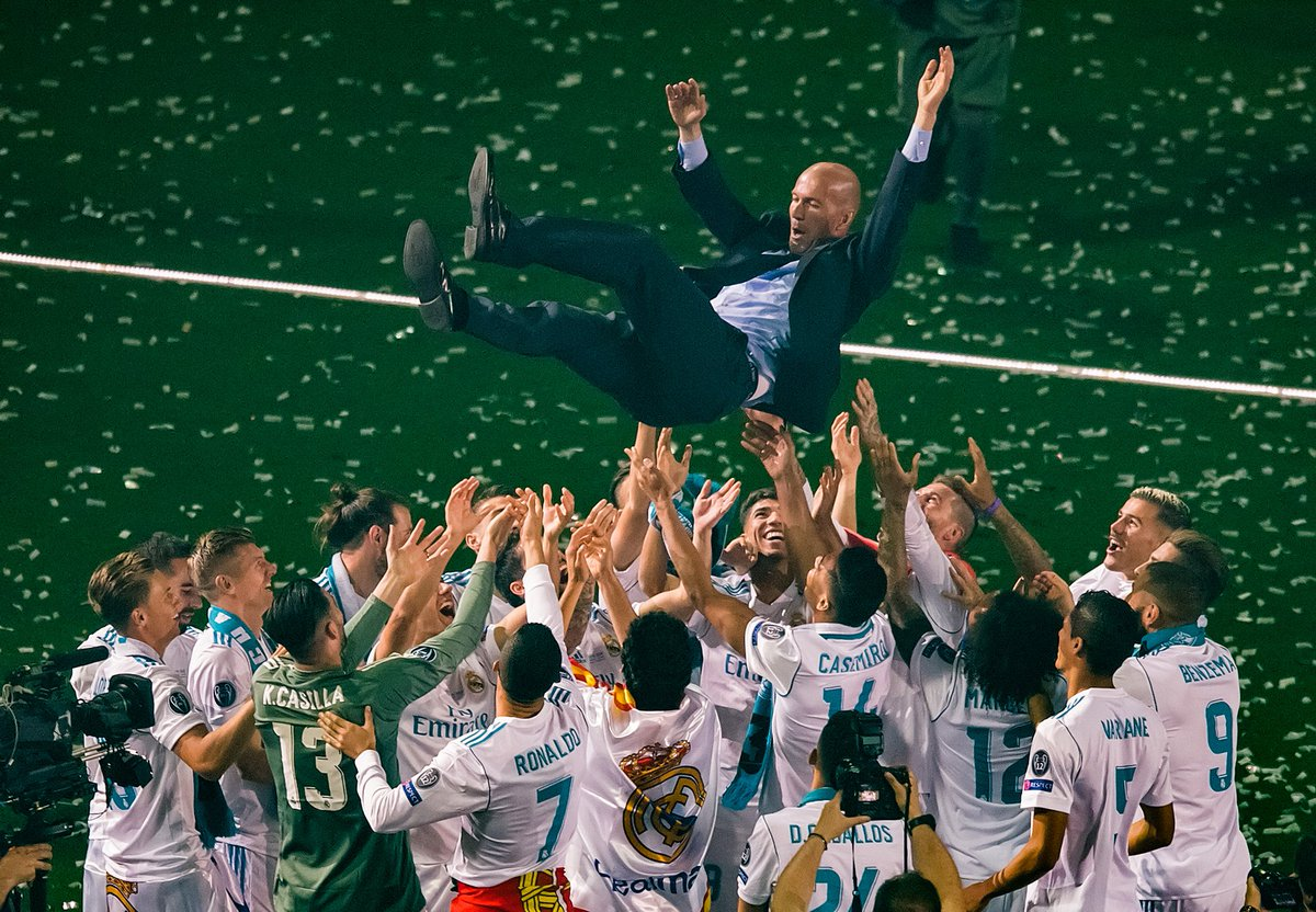 CONFIRMED: Zidane leaves Real Madrid after winning the #UCL three years running 🏆🏆🏆
