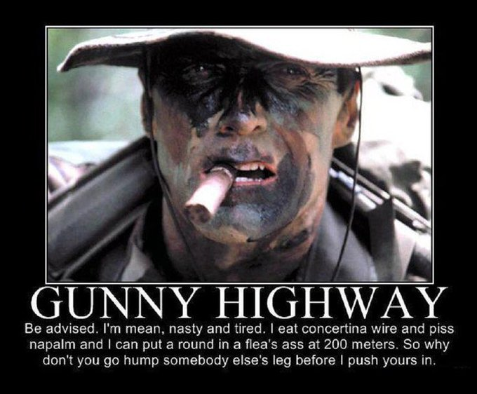 Happy Birthday to Clint Eastwood and thank you so much for Gunny Highway