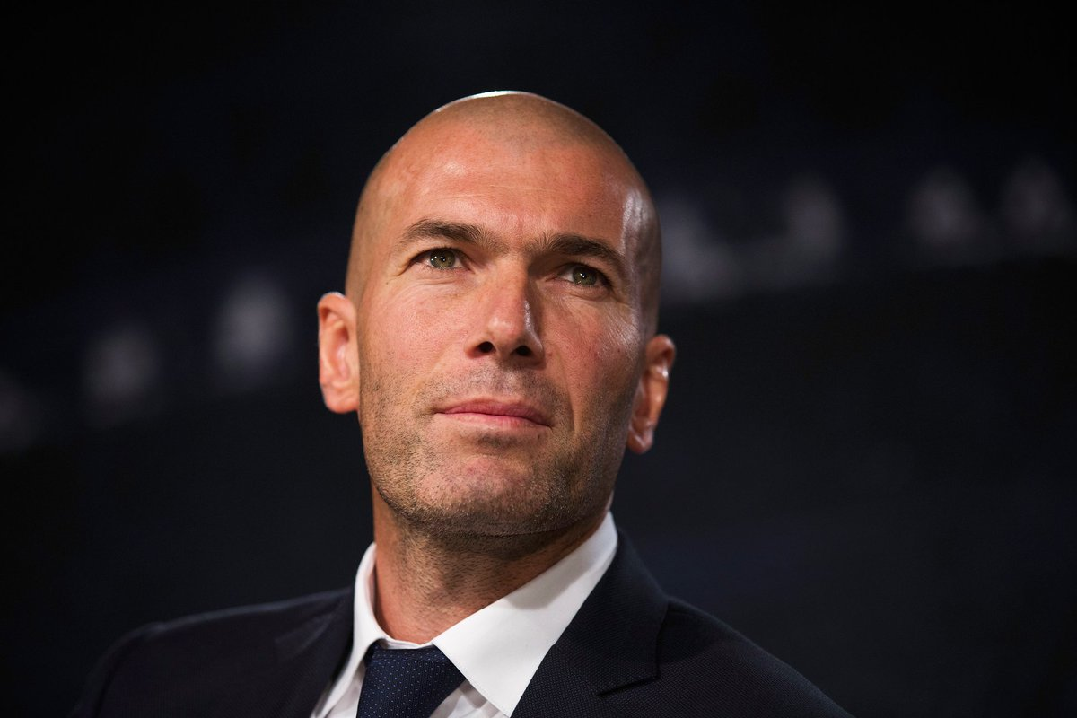 Zidane as Madrid coach (2016-18) 🙌  UEFA Champions League  🏆🏆🏆 UEFA Super Cup  🏆🏆 Club World Cup 🏆🏆  Spanish Super Cup  🏆 Liga  🏆  #UCL #UCLfinalfinal