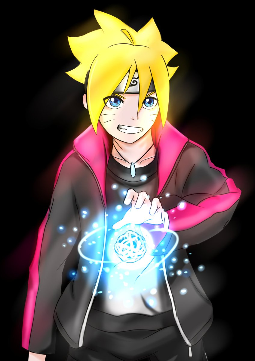 Minori Tadashi On Twitter Uzumaki Boruto Fan Art BORUTO Digital Drawing Illustration FanArt Rasengan Anime Japan