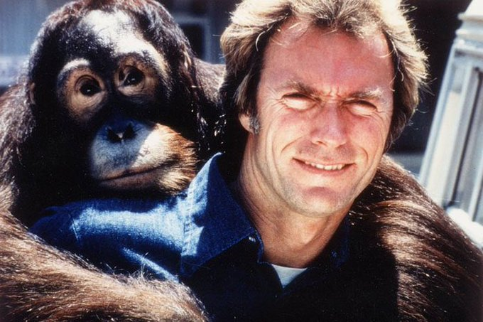 Nothing but respect for my President. Happy birthday to Clint Eastwood.