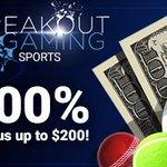 Image for the Tweet beginning: Breakout Gaming Sportsbook is very