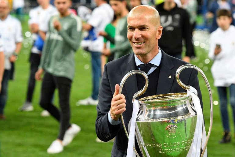 Just In: Zidane Quits Real Madrid