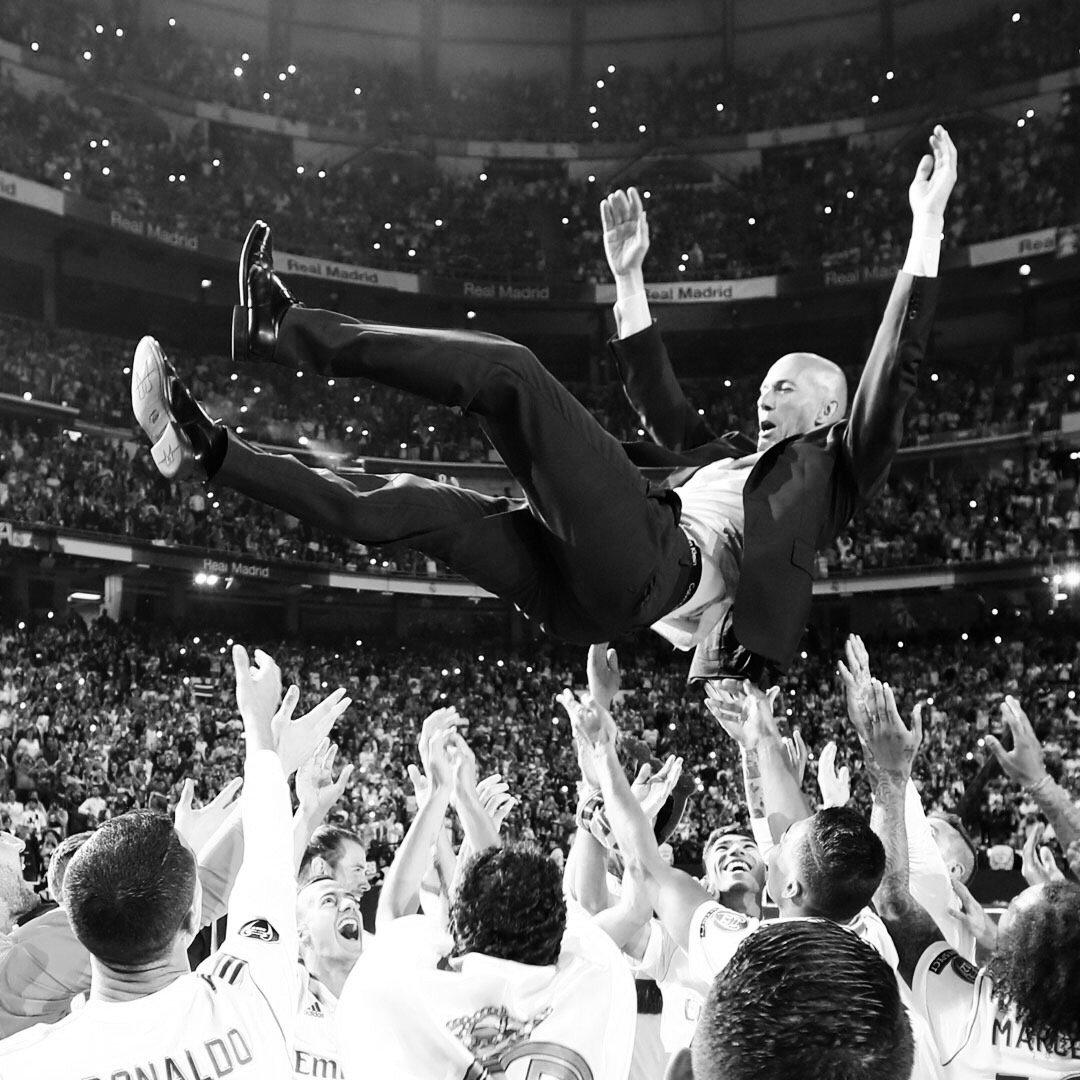 Gracias Zidane.