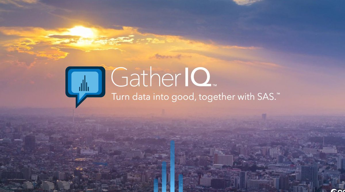 Excited to learn about the crowd sourcing #data4good mobile app GatherIQ. Check it out! #SASARconf <br>http://pic.twitter.com/ylaDA5mhGw