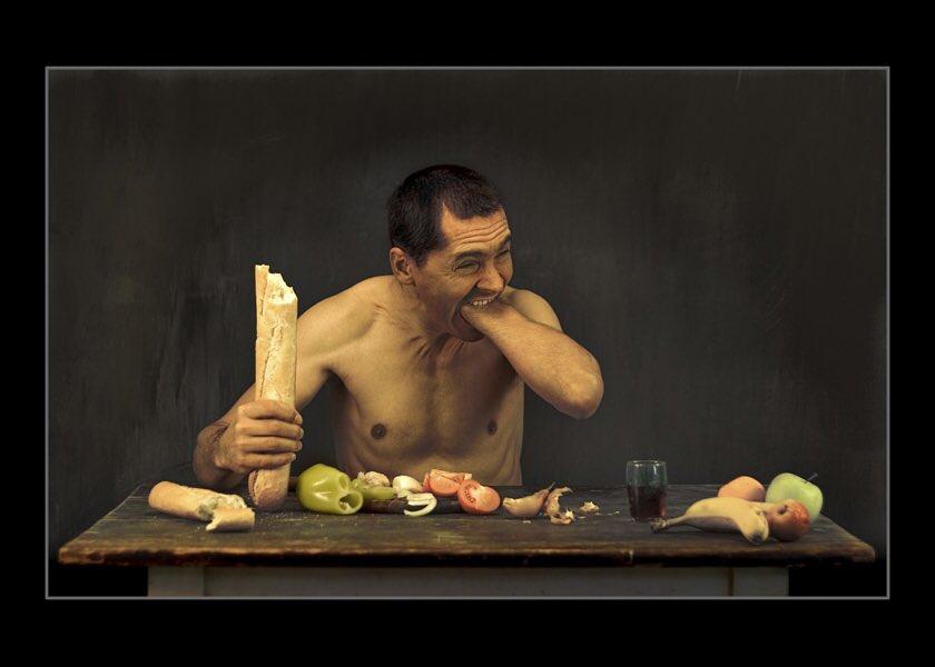 прикольные картинки голодный человек цитируют