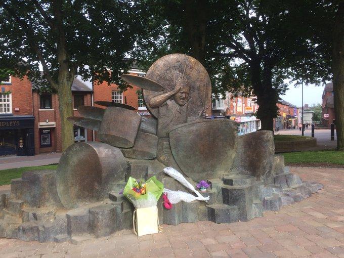 Happy birthday John Bonham - here s the new statue in Redditch