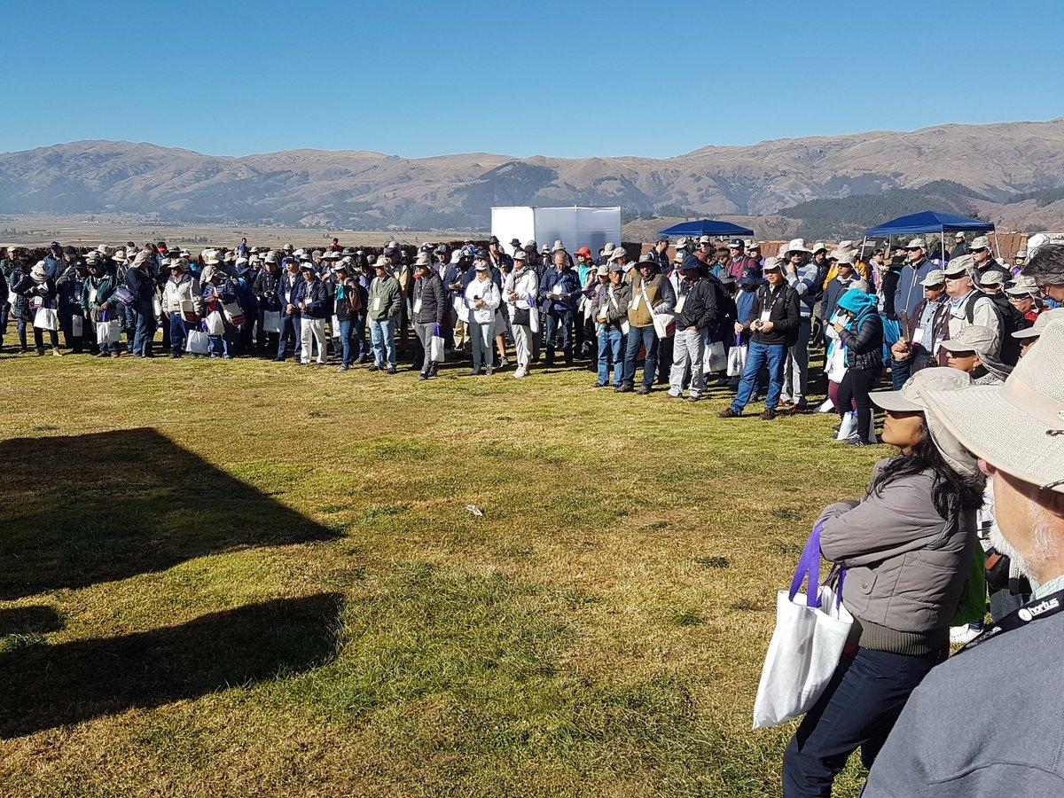 Inia Perú در توییتر Cusco Inicia El Díadecampo En La
