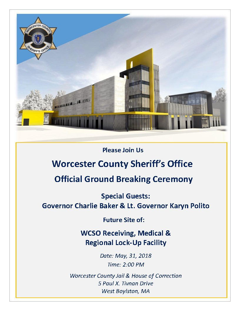 Worcester Sheriff On Twitter Exciting Day Wcsoma For Official