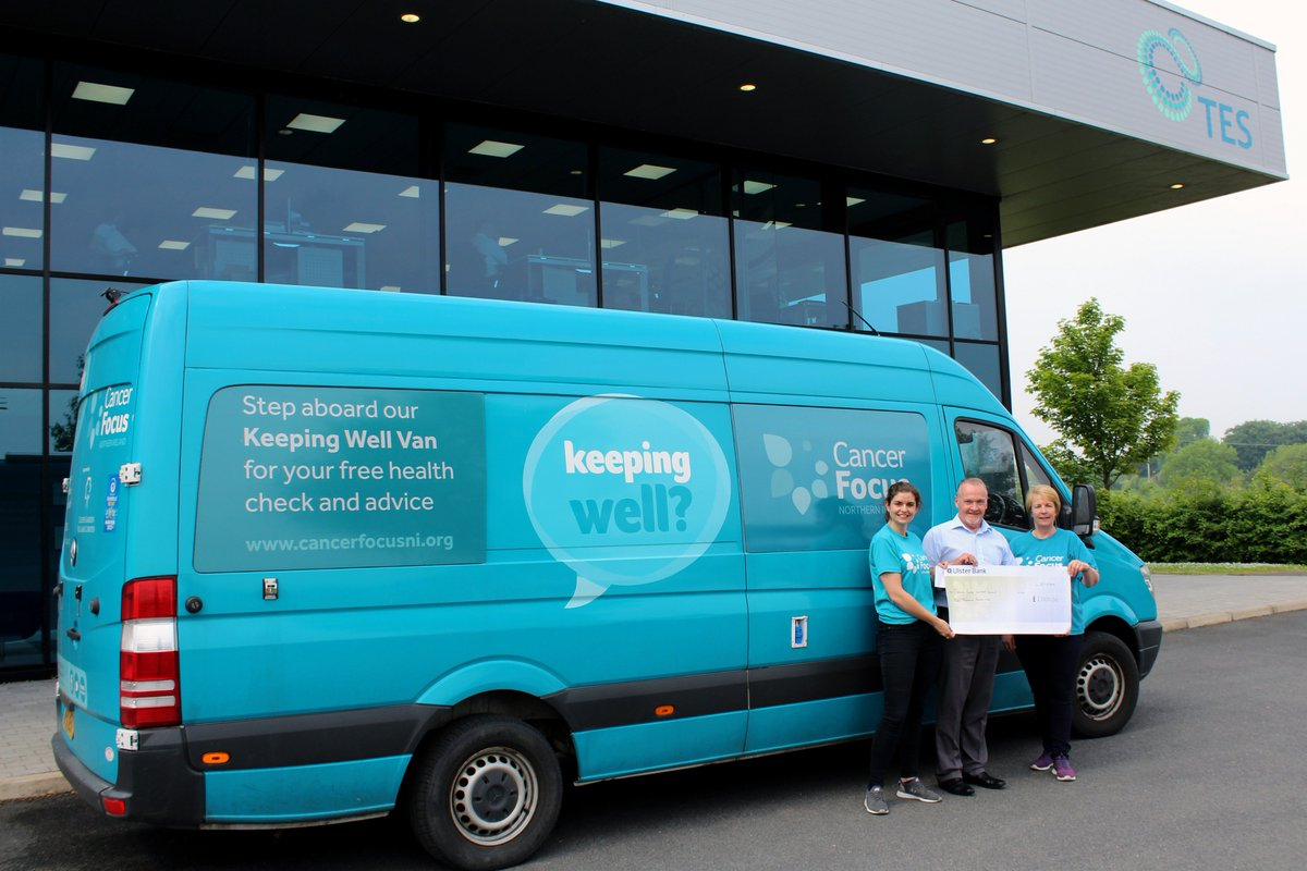 test Twitter Media - A massive thank you to @CancerFocusNI who have finished carrying out health checks of the TES workforce today. We were delighted to present the @CancerFocusNI  team with a cheque following donations by TES and our staff over the past number of days. #healthcheck #seeyouagainsoon https://t.co/UJy3txX8pj