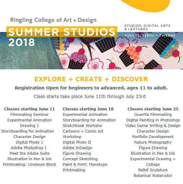 Ringling College On Twitter Continue Your Creativity With