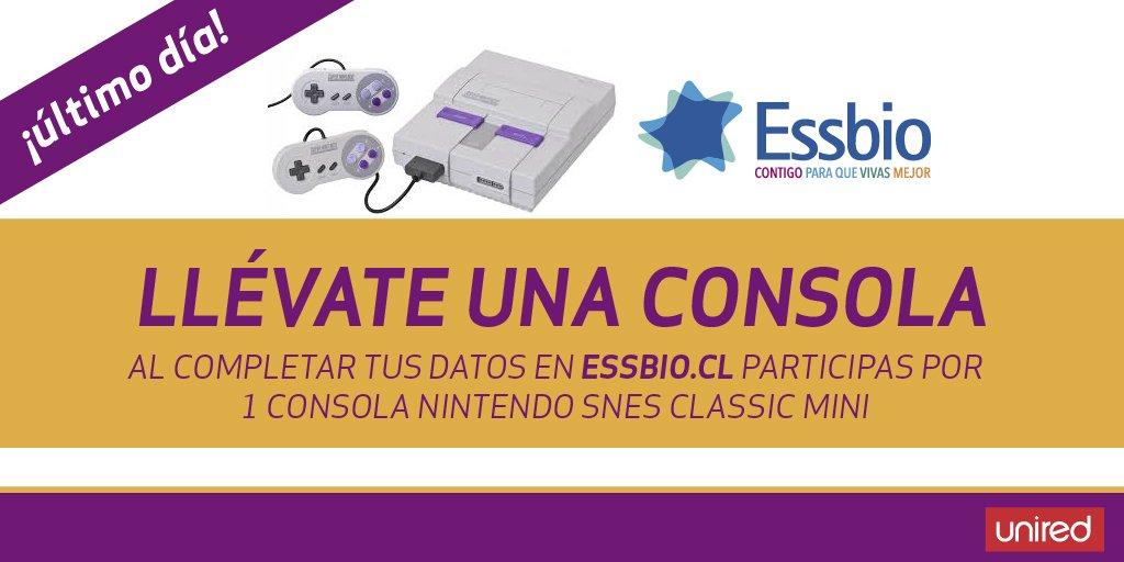 #CONCURSO @essbio #consola 🙂¡último día para participar! 😮😱ingresa aquí https://t.co/sa9kG64hUd  ¡no te lo pierdas! #unired https://t.co/ghjbwHcYp0