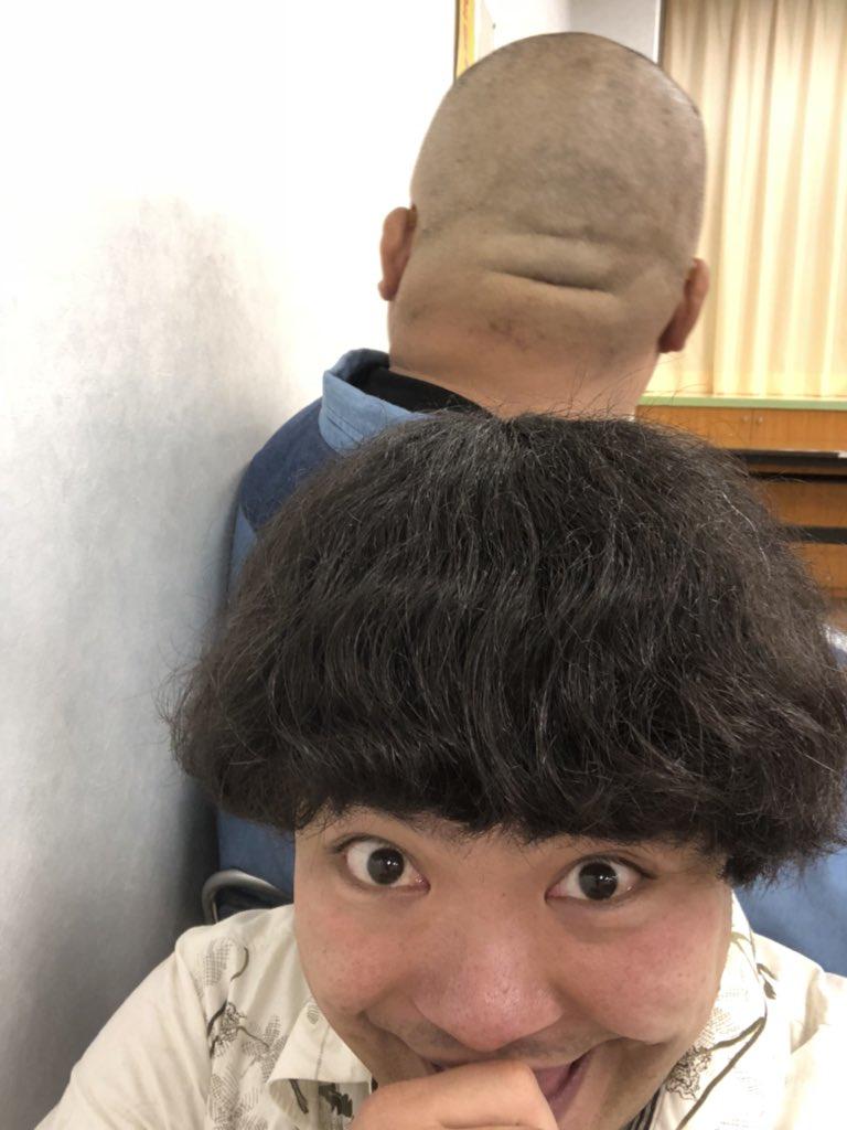 坊主 後頭部