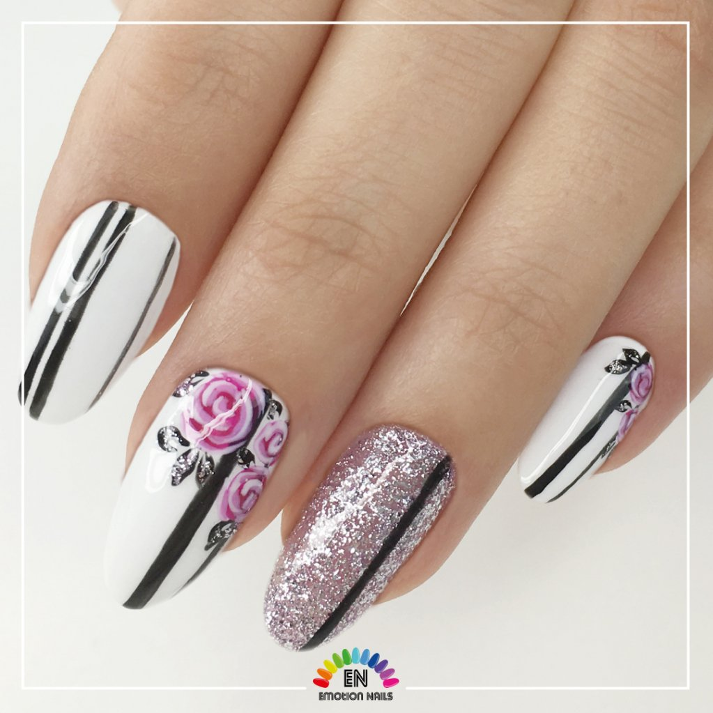 Fiori Nail Art.Emotion Nails On Twitter For This Nail Art Click Here Https