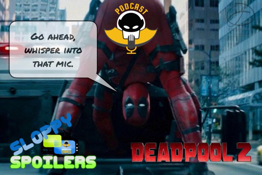 A NEW #SloppySpoilers is here! Listen in as your host @FreddieNero and co-host @TheRandomeDud3 give you ALL the info on #Deadpool2 (Spoiler Alert HIGH) @VancityReynolds @deadpoolmovie @UndercoverCapes #podcast  http://ow.ly/whWB30kgQuJ pic.twitter.com/b3BQLr2KgU